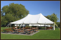 TABLES, CHAIRS, TENTS!
