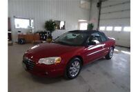 2004 Chrysler Sebring Limited 6cyl auto convertible