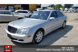 2004 Mercedes-Benz S-Class S500 4 Matic 100% Approval!