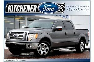 2011 Ford F-150 4X4/ADJ PEDALS/LEATHER/HTD MIRRORS/SIRIUS/TOW...