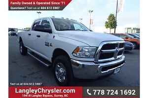 2016 RAM 3500 ST W/BLUETOOTH & SAFETY REAR CAMERA