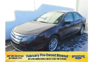 2011 Ford Fusion S Speed Sensitive Wipers.