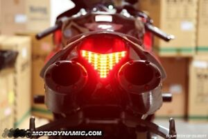 2009-2014 Yamaha YZF R1 Sequential LED TailLight Smoked