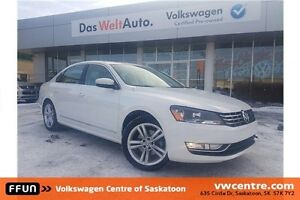 2013 Volkswagen Passat 3.6L Highline Factory Remote Start and...