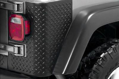 Rear Body Armor Tall Corner Pair Jeep Wrangler Tj 1997 To 2006 X - Corner Body Armor