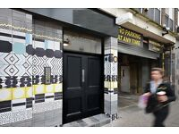 BRICK LANE Office Space To Let - E1 Flexible Terms   2-66 People