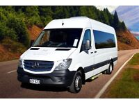 GOLDEN EAGLE TRAVEL MINIBUS HIRE - 9-16 PASSENGERS BRADFORD / LEEDS & WEST YORKSHIRE 07479309256