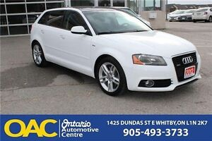 2012 Audi A3 2.0T Progressiv | BT | XM RADIO | PANORAMIC ROOF...