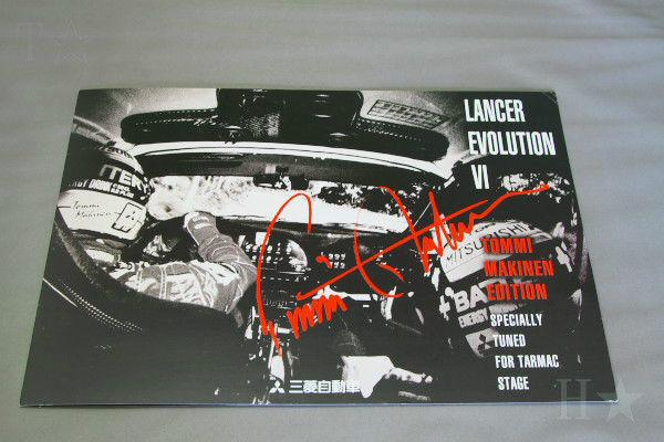 MITSUBISHI LANCER Evolution 6.5 Tommi.Makinen EDITION CP9A Japan Brochure 1999
