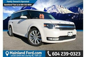 2016 Ford Flex Limited LOCAL, NO ACCIDENT, LOW KM'S