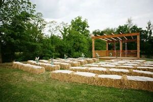 ISO Haybales for wedding