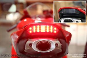 2013 - 2019 Honda CBR600RR Sequential LED Tail Light Smoked