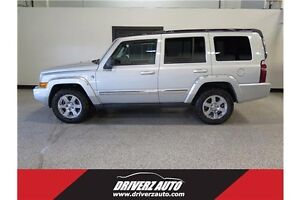 2006 Jeep Commander Limited SUNROOF, LEATHER, NAV