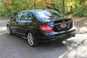 2009 Mercedes-Benz C-Class   AWD 4Matic   CERTIFIED Kitchener / Waterloo Kitchener Area image 3