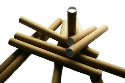 20x A3 A4 Poster Document Mailing Postal Tubes 2 x 13
