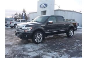 2013 Ford F-150 Platinum LOCAL TRADE!! PST PAID!! PLATINUM!!