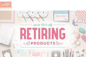retired Stampin' Up! stamps dies embossing folders