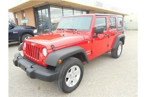 2012 Jeep Wrangler Unlimited Sport Unlimited Sport 4x4 Auto