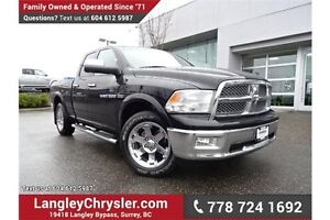 2012 RAM 1500 Laramie ACCIDENT FREE & FULLY LOADED!