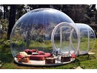 Bubble Tent. Outdoor inflatable tent. Igloo tent perfect for parties, events etc...