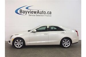 2014 Cadillac ATS - TURBO! AWD! HEATED LEATHER! BOSE SOUND!