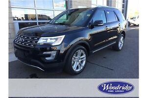 2016 Ford Explorer Limited 3.5L V6, 4WD, LEATHER, BACKUP CAM