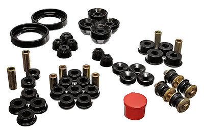 Energy Hyper Flex Master Bushing / Insert Kit Honda Accord 94 95 96 97 (Black) ()