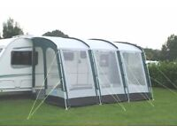 kampa rally pro 390 caravan motorhome awning NO poles as new used once!