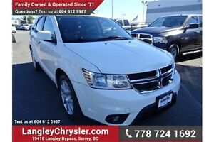 2012 Dodge Journey R/T w/Leather Interior & Heated Seats