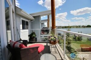 BEST VIEW in Chestermere! Fantastic condo, 10 out of 10!