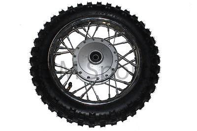 Dirt Pit Bike Front Wheel Tire Rim Brake Drum 50cc Parts For Suzuki JR 50