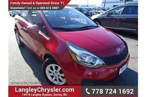 2015 Kia Rio LX+ W POWER ACCESSORIES, A/C & HEATED SEATS