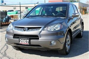 2007 Acura RDX Base | ONLY 103K + Sunrooof+ CERTIFIED + E-Tested Kitchener / Waterloo Kitchener Area image 1