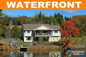 Featuring over 200' of waterfront on the Mira River