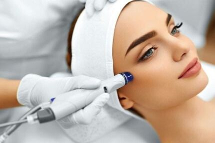 NEW IN BOX - HYDRO MICRODERMABRASION MACHINE & OXYGEN SPRAY INJECTION