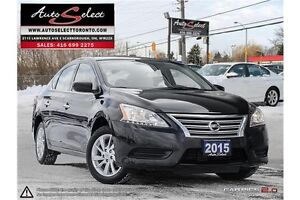 2015 Nissan Sentra ONLY 25K! **BACK-UP CAM** SPORT MODEL **BL...