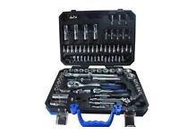 """BERGEN Tools 94pc 1/4"""" & 1/2""""dr Socket Set New"""
