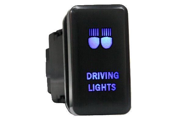 led light bar push switch for toyota landcruiser spot driving prado 120 hilux