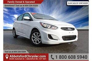 2014 Hyundai Accent GL Locally Owned!