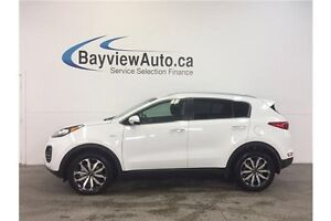 2017 Kia SPORTAGE EX- AWD! HEATED SEATS! BLUETOOTH! REVERSE CAM!