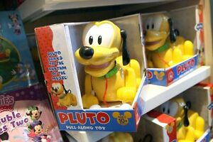 Pluto toy and barks
