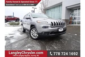 2014 Jeep Cherokee Limited LOCALLY DRIVEN & ACCIDENT FREE