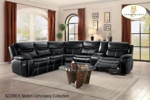 Sectional Recliner with Console - Sale in Erin Mills (BD-2415)