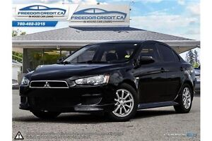2011 Mitsubishi Lancer Black and Fast... Get Financed with us!!