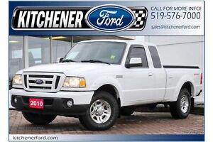 2010 Ford Ranger SPORT/TONNEAU/4.0 V6/ONLY 122K KM'S/TOW PKG/...