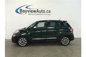 2015 Fiat 500L LOUNGE- TURBO! PANOROOF! HEATED LEATHER! NAV!