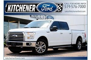 2015 Ford F-150 XLT XLT/XTR/CREW/4X4/5.0L/RMT START/1 OWNER/W...