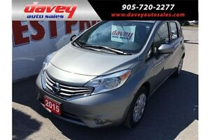 2015 Nissan Versa Note 1.6 SV BACK UP CAMERA, HEATED SEATS