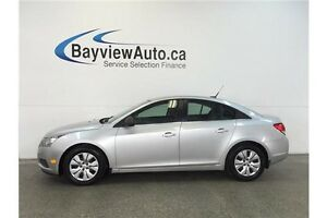 2012 Chevrolet CRUZE LS- 6 SPEED! 1.8L!  A/C! ON STAR! LOW KM'S!