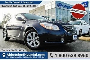 2012 Buick Regal Base ACCIDENT FREE & BC OWNED